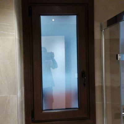 ventana de baño