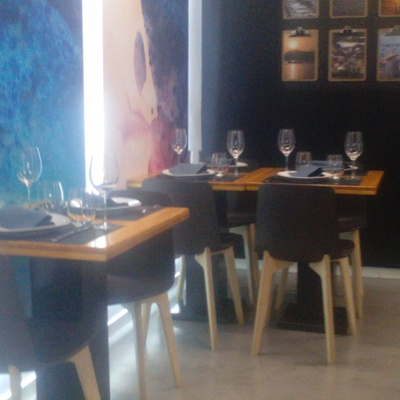 Pavimento de Microcemento en Restaurante