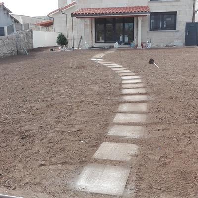 Colocación de pasillo