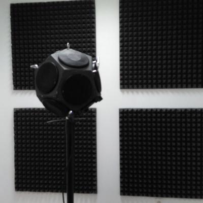 Difusores en Aula de Música