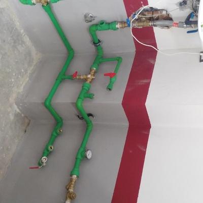 circuito hidraúlico de caldera de pellets doméstica
