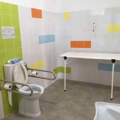 Reforma integral de baño para adecuarlo a accesibilidad.