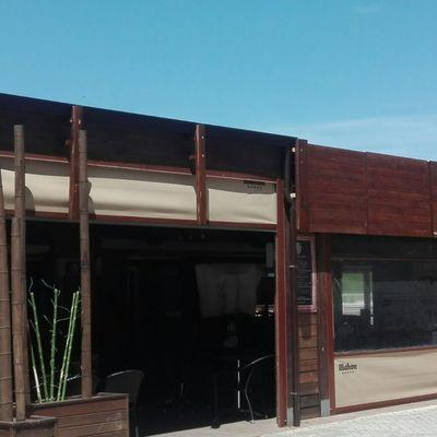 restaurante. cerramiento terraza