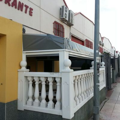 Cerramiento restaurante