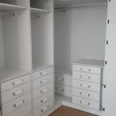 Interior armario vestidor