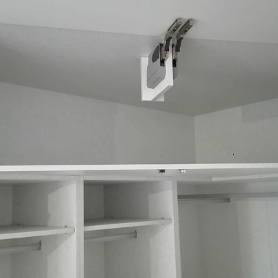 Interior maletero vestidor