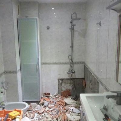 Cambio bañera por plato de ducha (aviles) antes