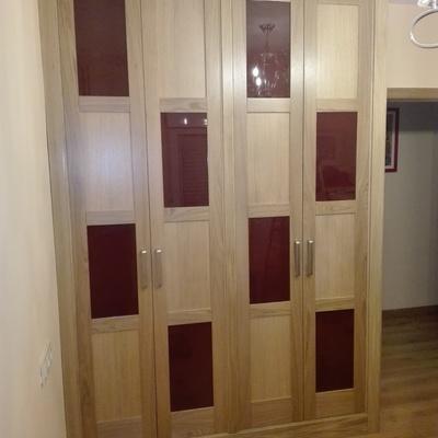 Armario 4 puertas plegables