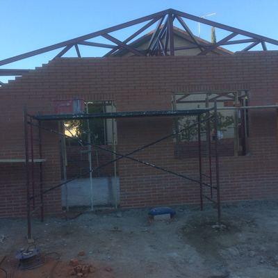 Construcción auxiliar