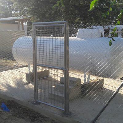 Instalación de almacenamientod e gas Propano