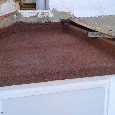 Reparación terraza
