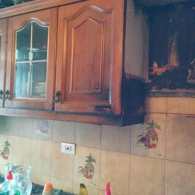 Limpieza de cocina por incendio