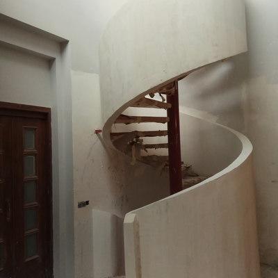 Barandilla escalera de caracol