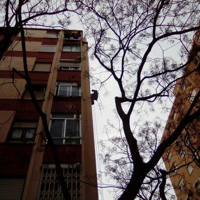 Reparación de fachada en Valencia.
