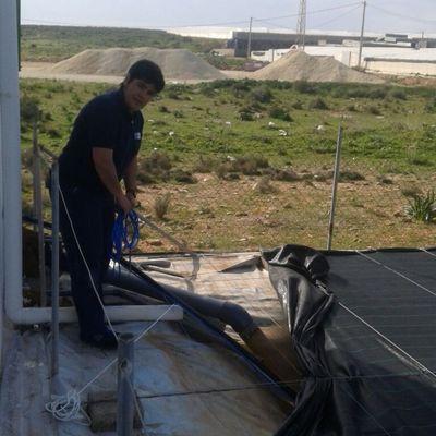 Instalación bomba de agua