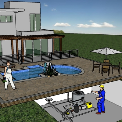 Mantenimiento piscinas.