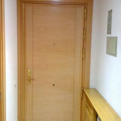 Forrado de puerta de entrada