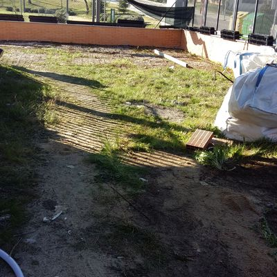 Reforma jardín