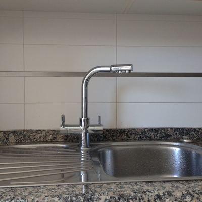 Instalacion grifo de 3 vias para osmosis