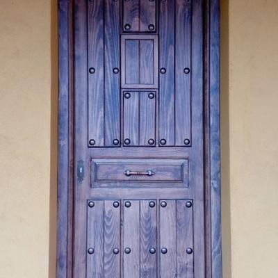 Puerta Entrada rustica