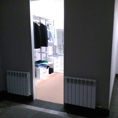 de un closet mal aprovechado
