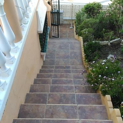 Cambio escaleras valle niza