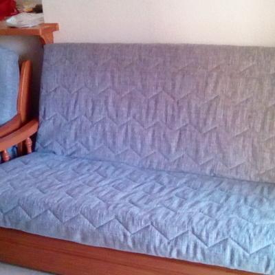 Sofá cama de fundas