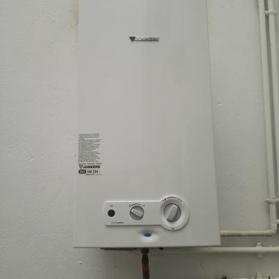 Cambio de calentador de gas natural