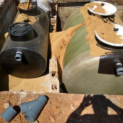 Separador de grasas y depuradora de oxidación total 1