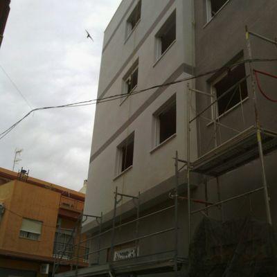 revestimiento de fachada obra nueva