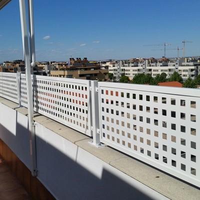 Cerramiento terraza atico