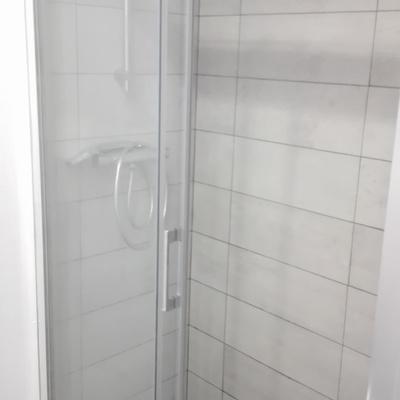 Reforma de plato de ducha.