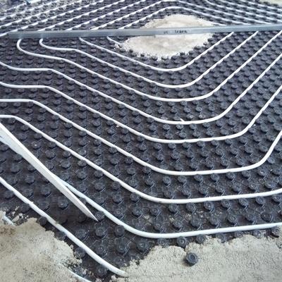 suelo radiante en pavimento