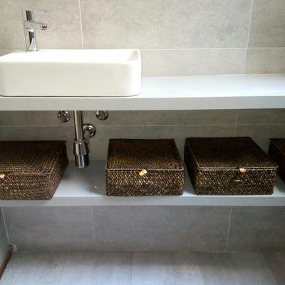 baño minmalista