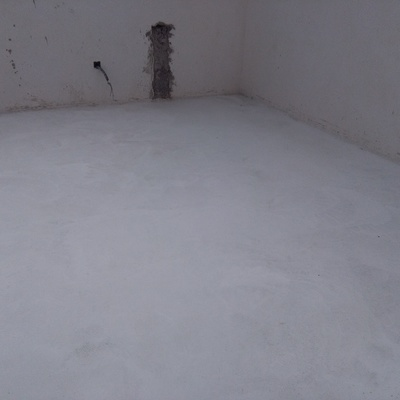 pavimento interior de hormigón pulido