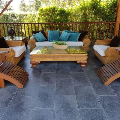 Colchonetas y cojines para jardin exterior