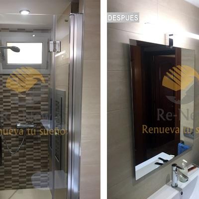 Después de reforma de baño