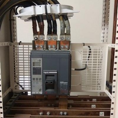 Instalación toroidal en interruptor general