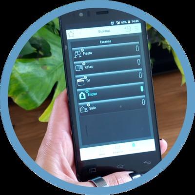 App de control