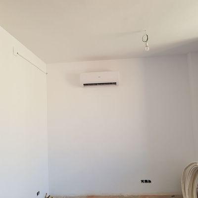 Maquina pequeña aire acondicionado