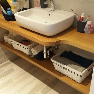 Encimera banyo Iroko