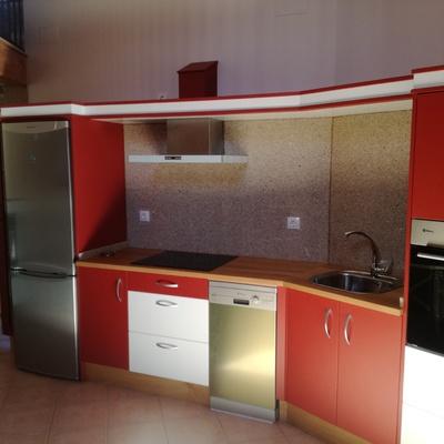 lacado de muebles de cocina