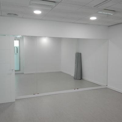Sala estiramientos de danza