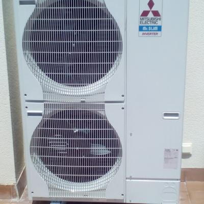 Instalacion de climatizador por conductos 15000frg