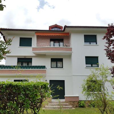 Rehabilitación de fachada en Avda. Navarra 56, Zarautz