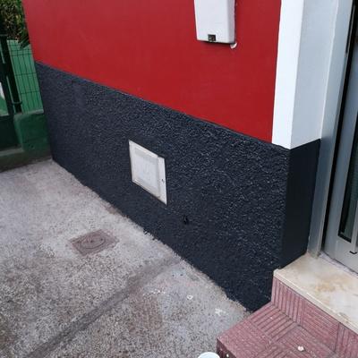 Reforma de una fachada