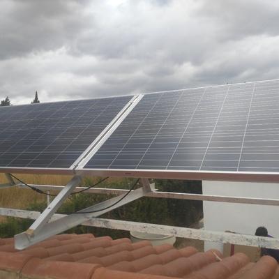 instalación fotovoltaica para chalet