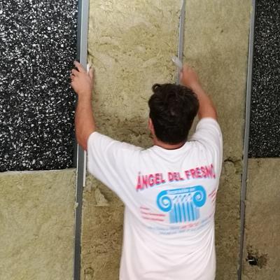 Aislamiento acústico, insonorización de pared.