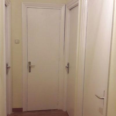 Lacado puertas pasillo