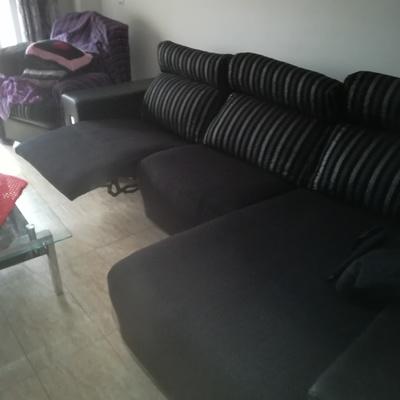 Tapizado de asientos reclinables